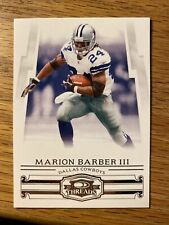 2007 Donruss Threads Marion Barber Iii Dallas Cowboys #76
