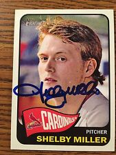 St Louis Cardinals Shelby Miller Autograph Signed Auto Card