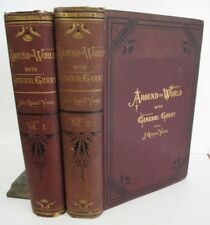 AROUND THE WORLD With GENERAL GRANT by John Russell Young, 2 Vols. 1879, Illus.