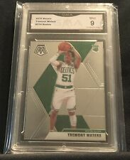 2019-20 Tremont Waters Rc Panini Mosaic Refractor Rookie Celtics GMA 9 (D19)