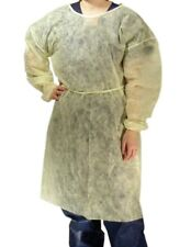 DUKAL LATEX-FREE IMPERVIOUS ISOLATION GOWN UNIVERSAL SIZE 10 Pack + FREE MASKS!