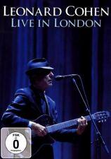 DVD (NEU!) . LEONARD COHEN - Live in London (2008 mkmbh