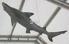 HAI 115 cm Schwarzspitzen-Riffhai zum AUFHÄNGEN Deko Tier FIGUR SHARK HAIFISCH