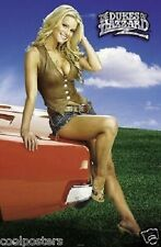 DUKES OF HAZZARD JESSICA SIMPSON DAISY & GENERAL LEE 22x34 NEW POSTER FREE SHIP