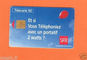 Telefonkarte - Und Si Vous Rufen Sie Mit Ein Tragbar 2 Watt - SFR (A3562)