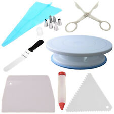 Cake Decorating Spinner Turntable Kit Base Plato Giratoria de Decorar Pasteles