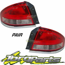 TAILLIGHTS PAIR SUIT FORD FALCON BA SEDAN XT XR6 XR8 FPV TAILLAMPS TAIL LIGHTS