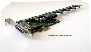 Sangoma A40504DE 10FXS 8FXO analog card w/ EC HW - PCIe