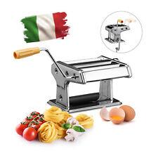 Nudelmaschine, verchromter Edelstahl, Pasta-Maker, Nudel-Maschine Pasta-Maschine