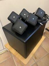BOSTON ACOUSTICS SoundWare Cube XS 5.1 Speaker System.