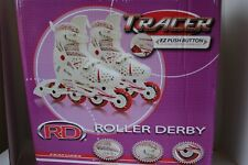 Roller Derby Girls Tracer Adjustable Inline Skate Small Training Sporting Goods