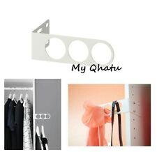 "Ikea KOMPLEMENT Valet hanger White PAX WARDROBES 6 3/4 x 2"" NEW"