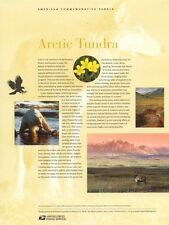 #689 37c Arctic Tundra Sheetlet MS10 #3802 USPS Commemorative Stamp Panel
