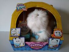 2016 Moose Little Live Pets 'Cuddles' My Dream Kitten Interactive Cat Toy New!
