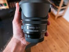 SIGMA 24-105mm f4 DG OS HSM ART CANON - 1,5 anni rivenditore-GARANZIA