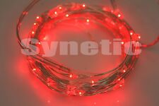 5M LED Fairy Light String Battery Bike Christmas Decorative DIY RGB Multi-Color