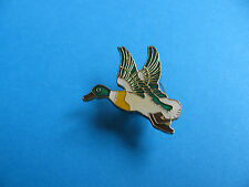 Flying Duck pin badge. Enamel.