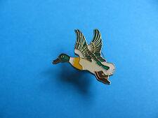 Flying Duck pin badge. Enamel.
