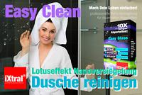 Dusche Nanoversiegelung Glasversiegelung Reinigung Lotuseffekt Abperleffekt