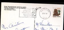 NORDKAPP (NORVEGE) PAQUEBOT en CROISIERE / GEIRANGERFJORD & CASCADES en 1991