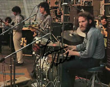 """* MARK LAVON LEVON HELM """" THE BAND """" SIGNED PHOTO 8X10 RP AUTOGRAPHED"""
