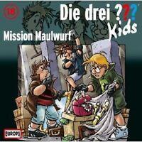 """DIE DREI FRAGEZEICHEN """"MISSION MAULWURF (18)"""" CD NEU"""