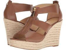 MICHAEL Michael Kors Damita Wedge Luggage Shoes Mult Sizes
