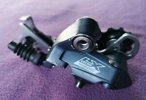 VGC Retro Shimano LX RD-M570 rear mech derailleur 9 speed 85mm cage