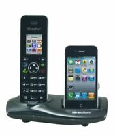 iCreation I650 DECT cordless phone with bluetooth Apple iPhone connection -