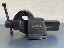 "Original  Vintage Craftsman 05191 Machinist Bench Vise  4"" Jaws 47 Pounds"