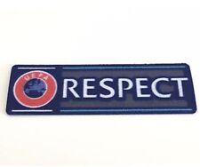 UCL UEFA Champions League Respect Patch Badge Parche Flicken Pièce Parche Toppa