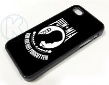ar1440 - POW MIA Flag Logo Case cover fits iPhone Apple Samsung Galaxy Plus Edge