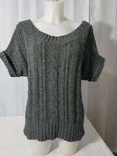 HOLLISTER SZ. LARGE WARM KNIT WOOL SWEATER SCOOP NECK OFF THE SHOULDER FREE  GIFT 1c1283d85
