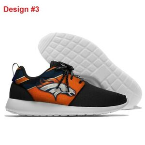 DENVER BRONCOS Lightweight Shoes Men's Women's Kids Sneakers Footbal Team Logo
