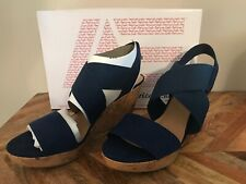 🔥🔥🔥american eagle Ryan Size 12 Wedges Blue MSRP:$29.99🔥🔥🔥