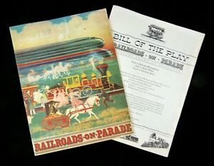 Book of the Pageant & Playbill RAILROADS ON PARADE New York World's Fair 1939
