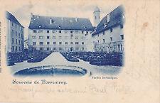 AK-Schweiz-Souvenir de Porrentruy-Jardin Botanique-1905