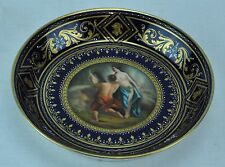 Royal Vienna Austria 1800's plate VENUS and VULCAN, Beehive mark. (BI#MK/170617)