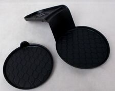 Fits; Hyundai Tucson Center Console Cup Holder Rubber Inserts 2 Pieces 2004-2004