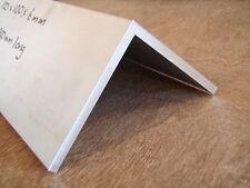 ALUMINIUM Angle 100x100x6mm 300mm LONG 6060-T5 Mill/Lathe/CNC/Hobby/Weld