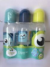 3-9oz Disney Monsters Inc bottles   New!