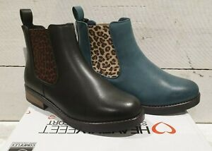 Ladies Heavenly Feet Cedar Vegan friendly Pull On Ankle Boots