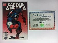 CAPTAIN AMERICA #25 SIGNED BY STAN LEE MARVEL CIVIL WAR VARIANT MCGUINESS DEATH