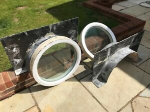 2 No. Wooden Double Glazed Portal windows together with lintel / Arch formers