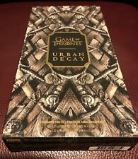 NEW SOLD OUT Urban Decay Game of Thrones 20 Eyeshadow Palette