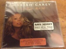 Mariah Carey - Don't Forget About Us - 2005 Eu 3trk Cd Single.Still Sealed.