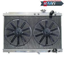 Aluminum Radiator For 1994-2001 Acura Integra 1.8L 1995 1996 1997 1998 1999 +Fan