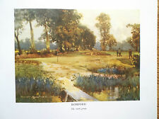 ROMFORD Golf Course Print Facsimile Of Original 1910 Harry Rountree