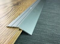 ANODISED ALUMINIUM DOOR FLOOR BAR EDGE TRIM THRESHOLD RAMP 100 CM LENGTH