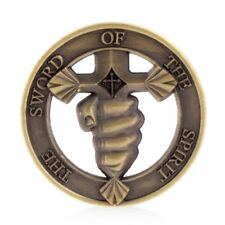 The Sword Of Spirit Commemorative Challenge Coin Token Souvenir Collection Gift